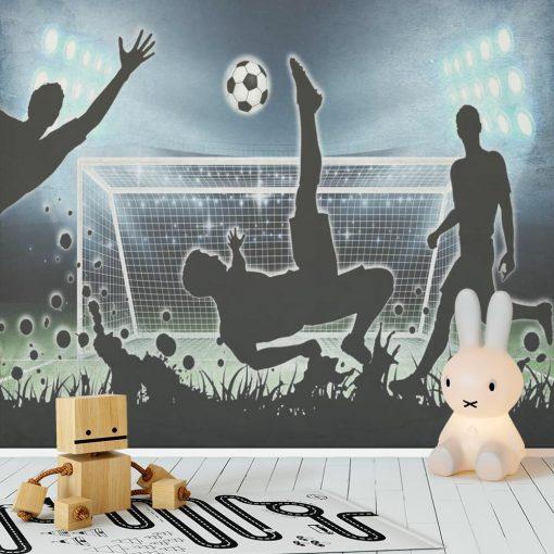 Foto-tapeta z piłkarzem do pokoju dziecięcego