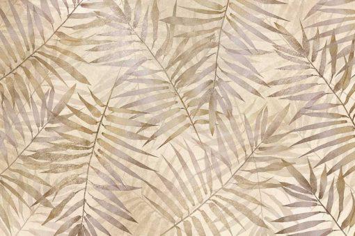Fototapeta boho w palmowe liście