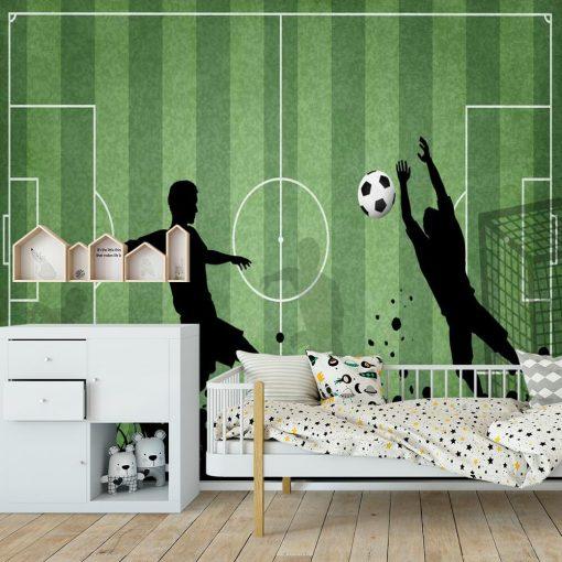 Fototapeta dla nastolatka - Rozgrywka footballu