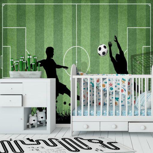Fototapeta dla przedszkolaka - Rozgrywka footballu
