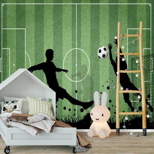 Fototapeta dla ucznia - Rozgrywka footballu
