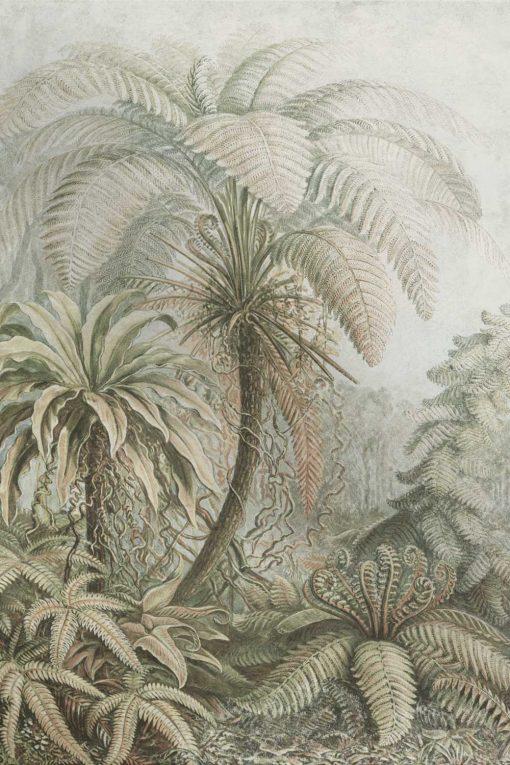 Fototapeta orientalna do łazienki - Flora