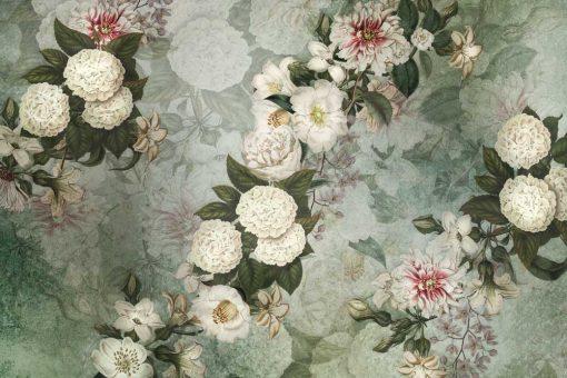 Fototapeta z kwiatową kompozycją