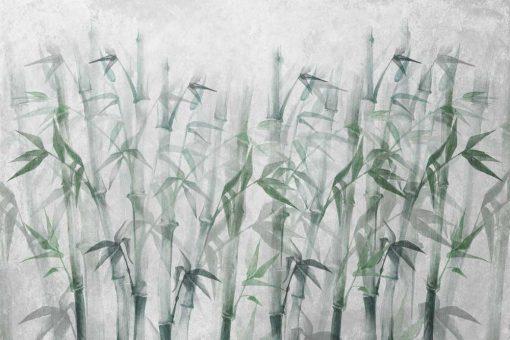 Orientalna fototapeta - Bambusy