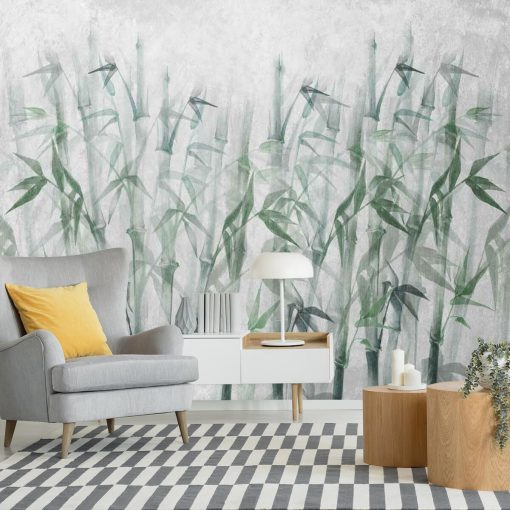Orientalna fototapeta - Bambusy do pokoju