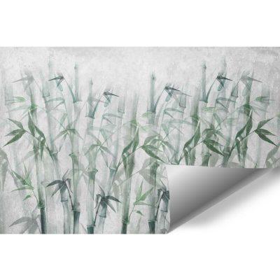 Orientalna fototapeta - Bambusy na klatkę schodową