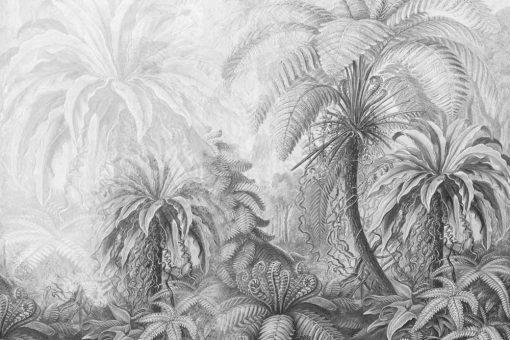 Orientalna fototapeta z palmami do gabinetu