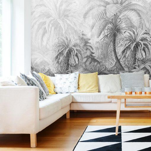 Orientalna fototapeta z palmami do salonu