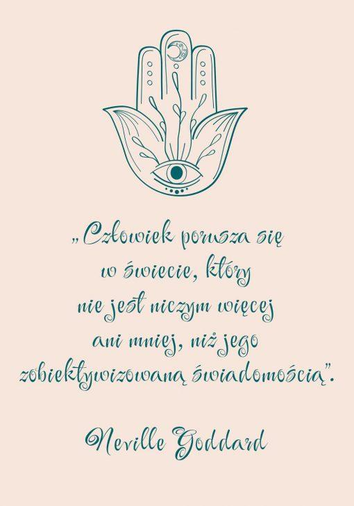 Plakat o zobiektywizowanej świadomości
