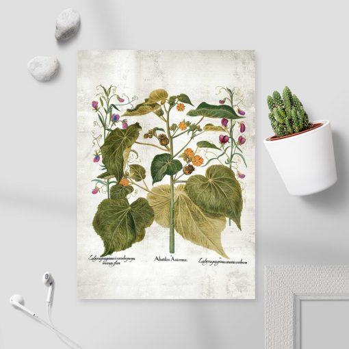 Plakat - zaślaz i inne rośliny