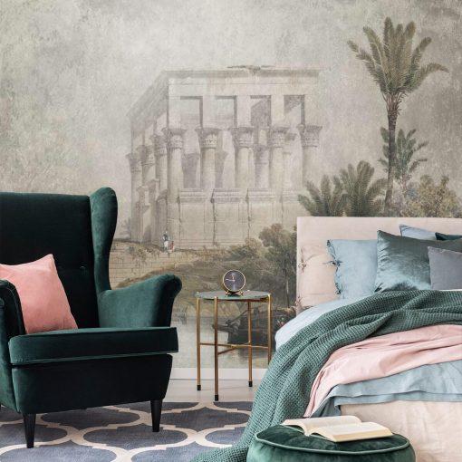 Fototapeta ze świątynią w Egipcie do sypialni
