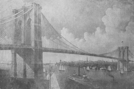 Tapeta - Most Brookliński