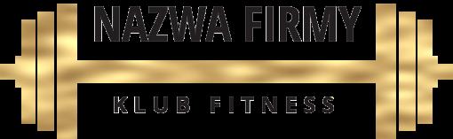 Przestrzenne logo z gryfem dla klubu fitness