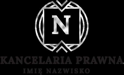 Przestrzenny logotyp dla kancelarii prawnej z literką