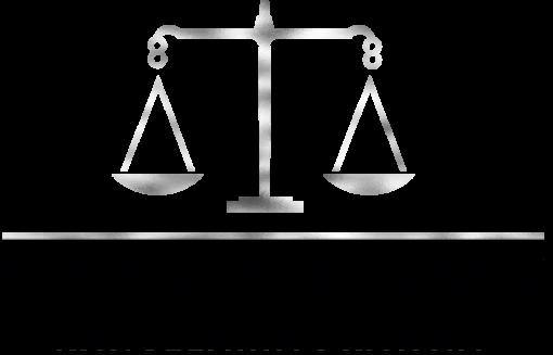 Trójwymiarowy logotyp z wagą dla kancelarii prawnej