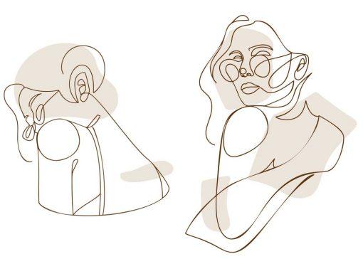 Dwa plakaty z okularnicą