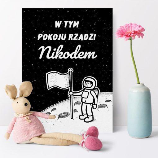 Plakat indywidualny dla dziecka
