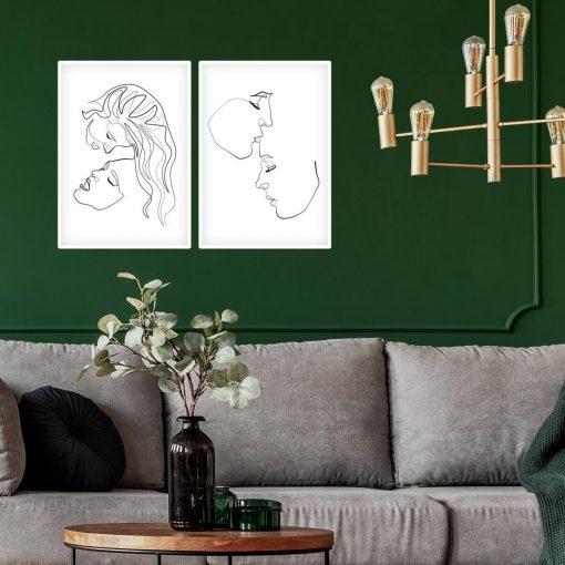 Plakaty minimalistyczne z kobietami