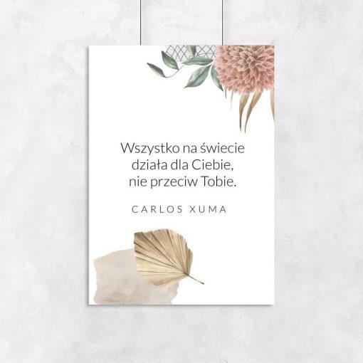 Plakaty z cytatem Xuma