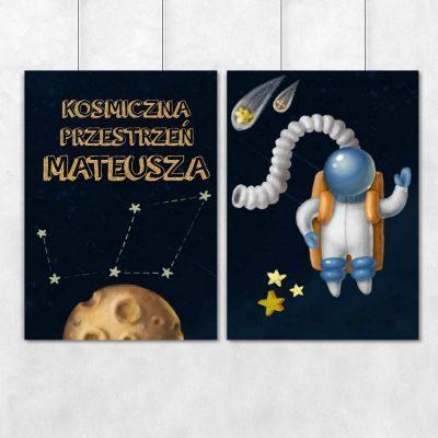 Spersonalizowane plakaty dla dzieci