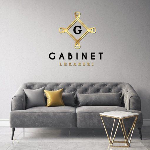 Gabinet lekarski - logo 3d