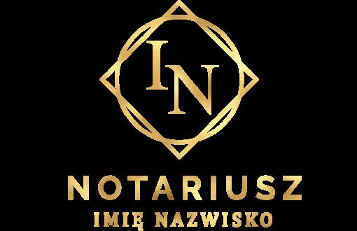 Logotyp 3d do gabinetu notariusza