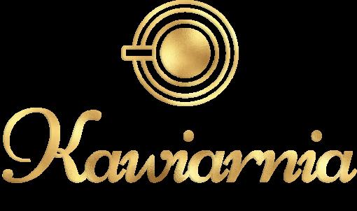 Logotyp z kawą i napisem do kawiarni