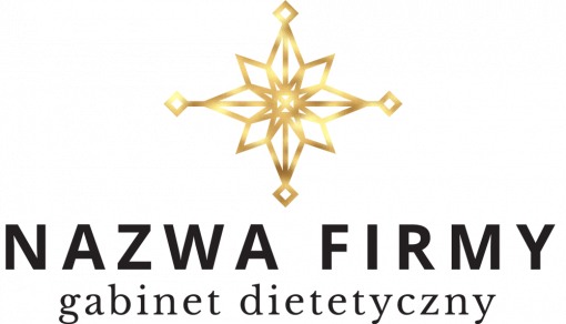 Rozeta - samoprzylepne logo 3d dla dietetyka