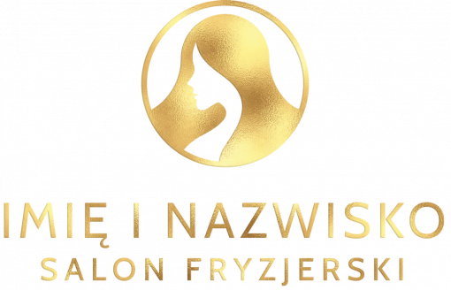 Znak fryzjerski - logo przestrzenne