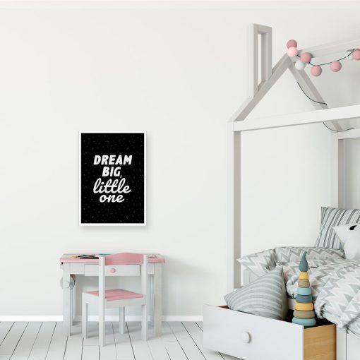 Plakaty w języku angielskim bez ramy